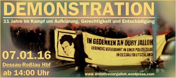 OURY JALLOH das war - M O R D!11 Jahre Kampf um Aufklärung, Gerechtigkeit und Entschädigung!