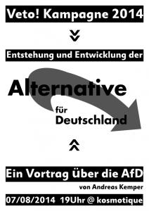 Vortrag zur Entstehung und Entwicklung der Alternative für Deutschland