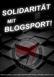 Solidarität mit Blogsport!